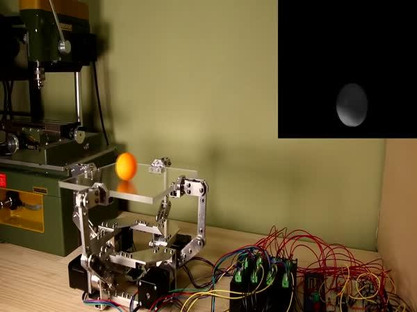Robot perfektně zvládá balanc