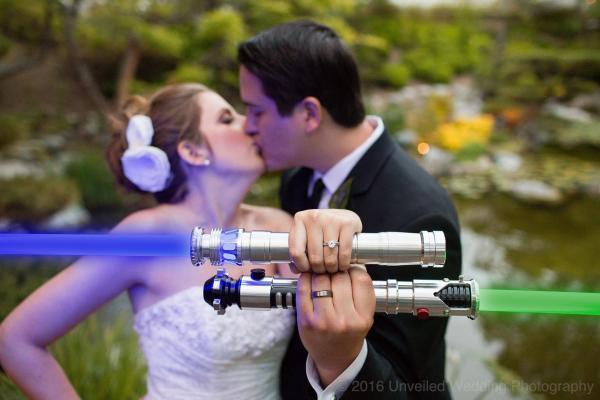 GALERIE – Svatba Star Wars