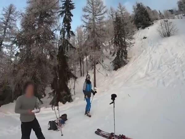 Lyžaři se skoro porvali