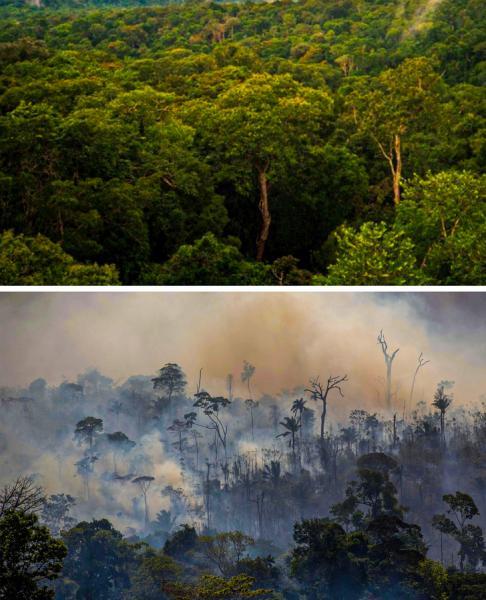 GALERIE – Změna klimatu je nepřehlédnutelná
