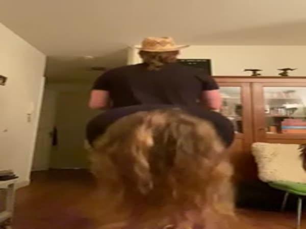 Dá se v bytě jezdit na koni?