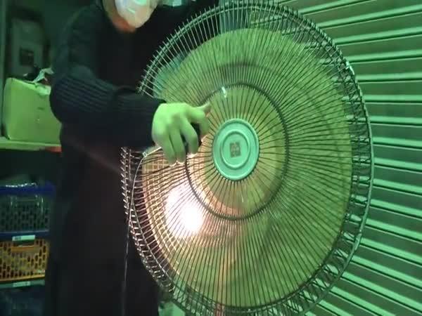 Hudba se dá dělat i na ventilátoru