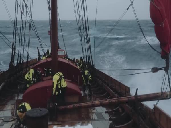 Plavba největší vikingské lodi