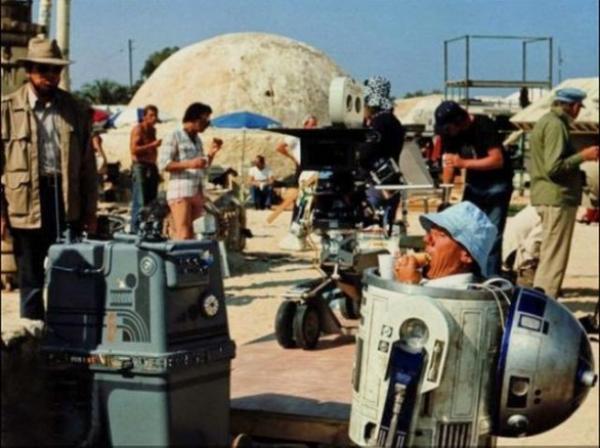 GALERIE – Zákulisní fotografie ze Star Wars