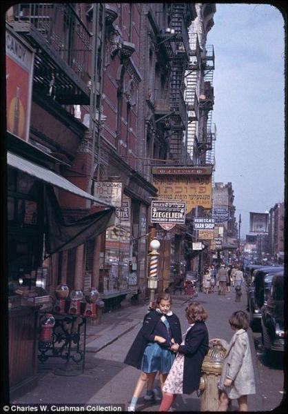 GALERIE – Staré fotografie New Yorku