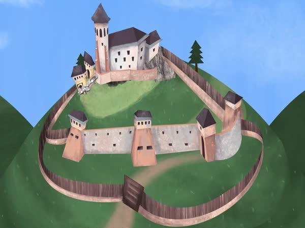 Jak se stavěl slovenský hrad