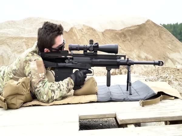 Nejmodernější puška Gepard GM6 Lynx