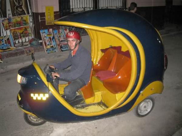 GALERIE – Originální taxíky z celého světa
