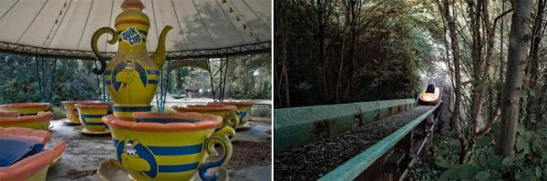 GALERIE – Opuštěný zábavní park