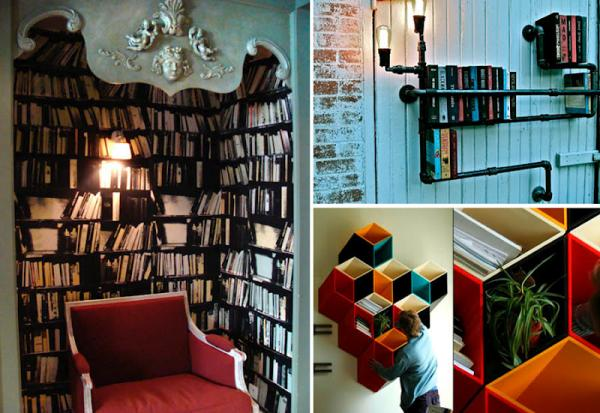 GALERIE – Originální knihovny