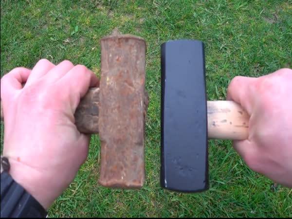 Nové vs. staré kladivo