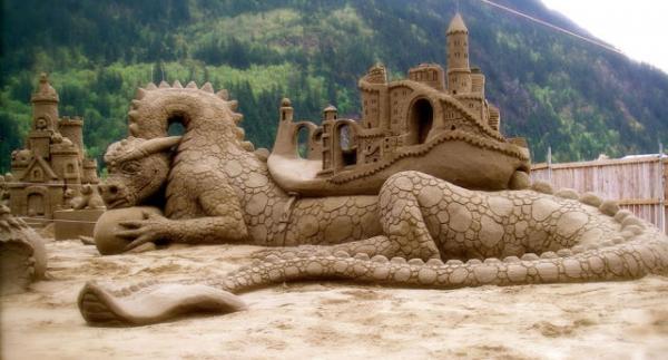 GALERIE - Sochy z písku