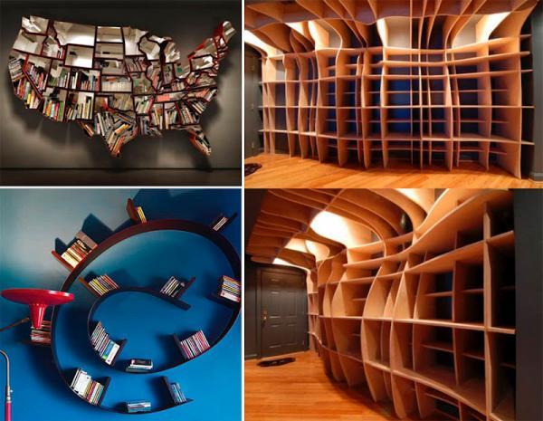 GALERIE – Neobvyklé knihovny