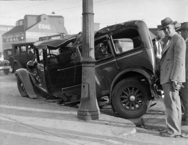 GALERIE – Autonehody v minulosti