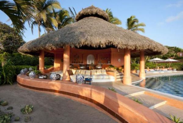 GALERIE – Cuixmala, luxusní hotel v Mexiku