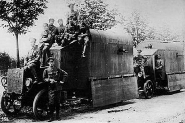 GALERIE – Zbraně a pomůcky z 1. světové války