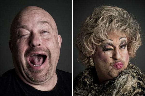 GALERIE – Transvestiti před/po