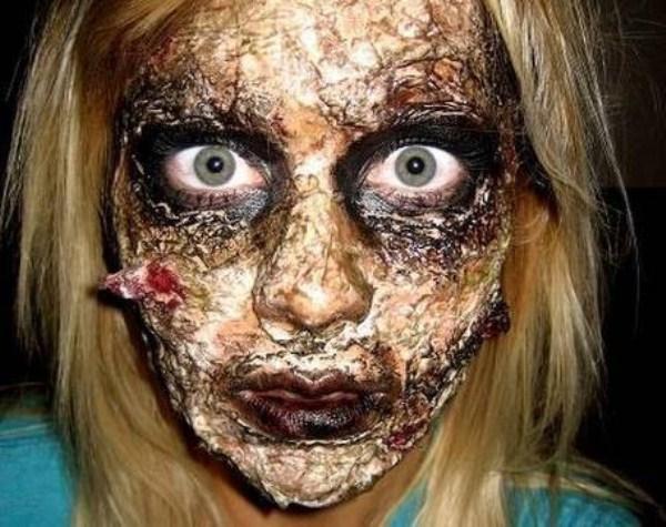 GALERIE – Úžasný zombie make-up