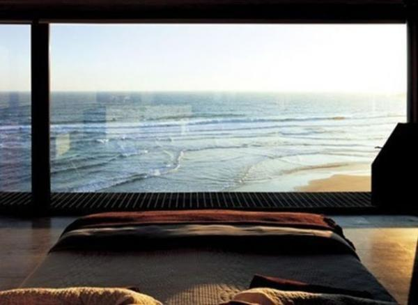 GALERIE – Přenádherné výhledy z ložnice