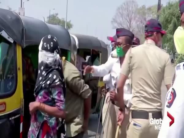 Roušky v Indii