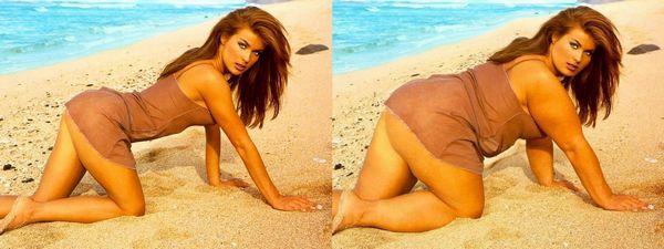 GALERIE – Celebrity zvětšené pomocí Photoshopu