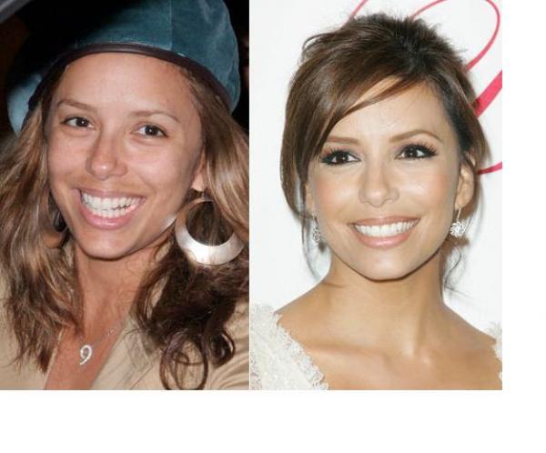 GALERIE - Celebrity bez makeupu