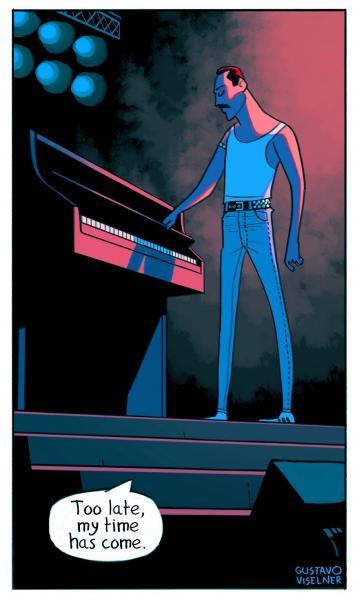 GALERIE – Slavné písničky jako komiks