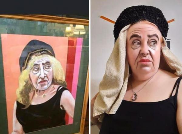 """GALERIE """" Vtipné předělávky děsivého umění"""