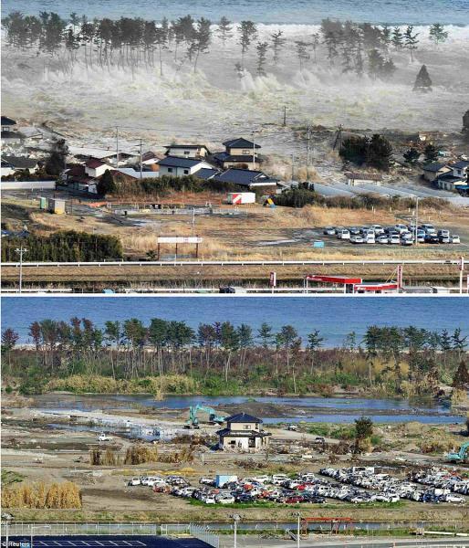 GALERIE – Po tsunami