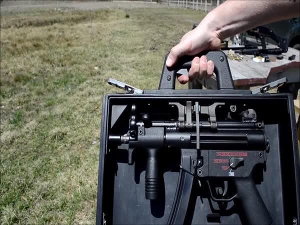 Kufřík pro tajné agenty (HK MP5K)