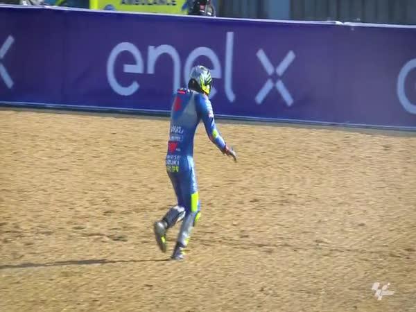 Joan Mir to rozchodil  (MotoGP)