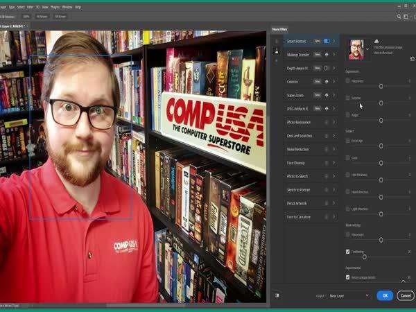 Nové filtry ve Photoshopu