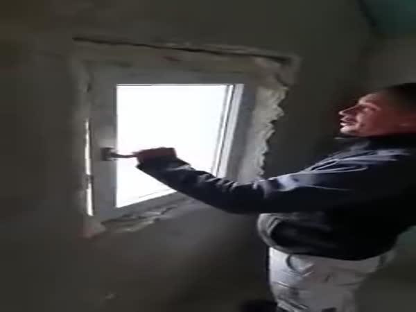 Jak se nemá montovat okno