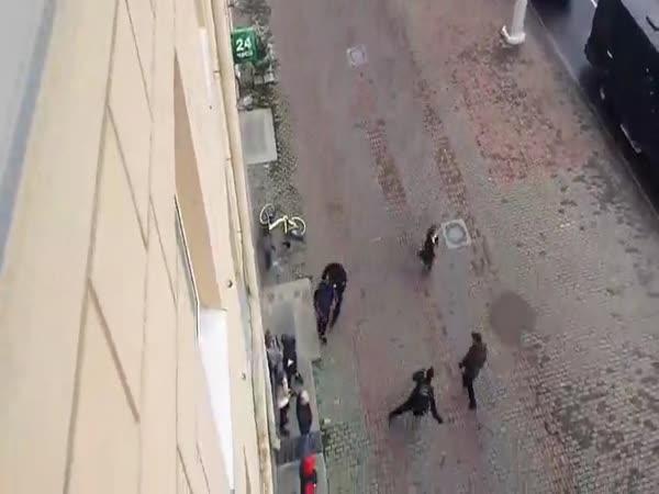 Bělorusko – Útěk před policií