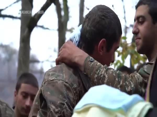 Poslední požehnání před válkou v Arménii