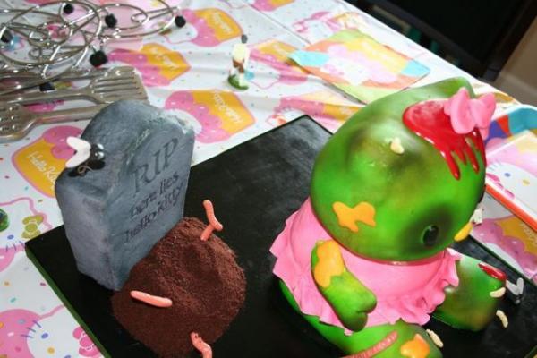 GALERIE – Hello Kitty Zombie Cake