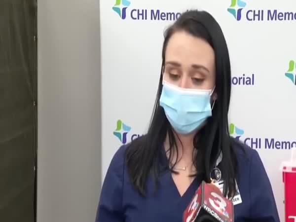 Po očkování na COVID odpadla