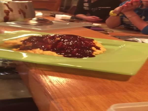 Příprava japonské omelety