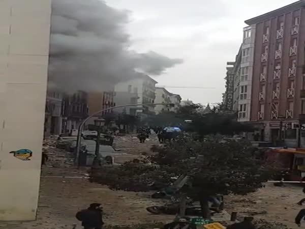 Obří exploze ve Španělsku