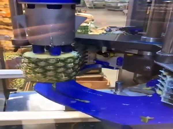Stroj na krájení ananasu