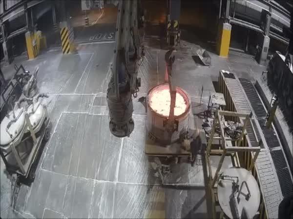 Katastrofa ve slévárenské továrně