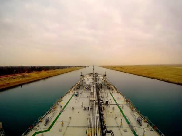 Zrychlená plavba Suezským průplavem
