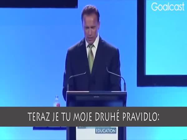 Motivační řeč Arnolda Schwarzeneggera
