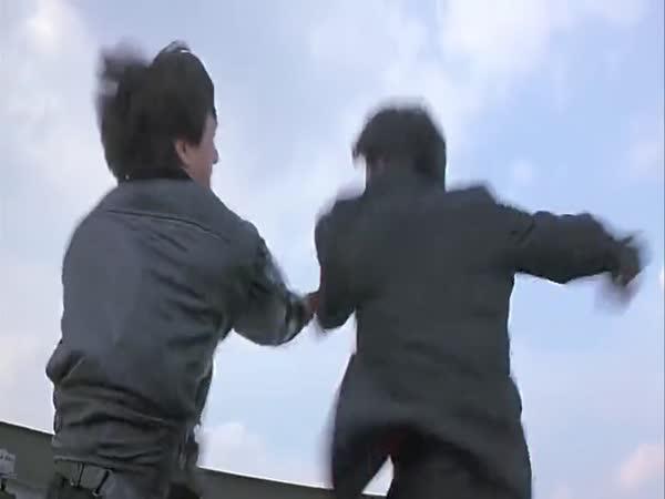 Legendární scéna s Jackie Chanem