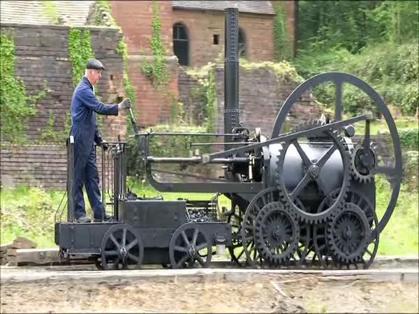 První lokomotiva na světě