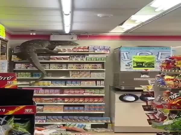 Plaz v obchodě v Thajsku