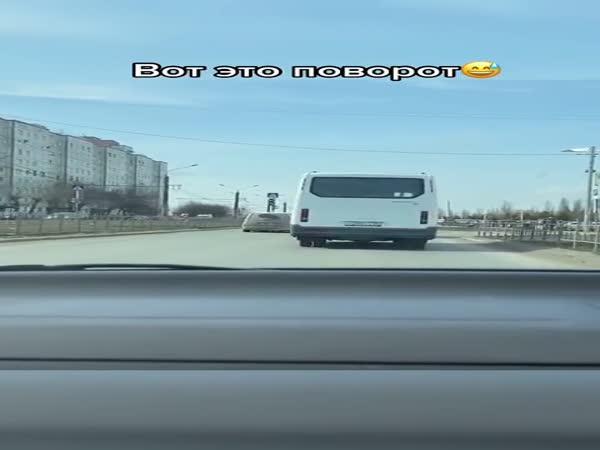 Ruští řidiči vědí, jak překvapit