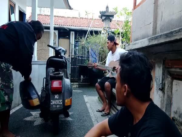 Nadějná kapela z Bali