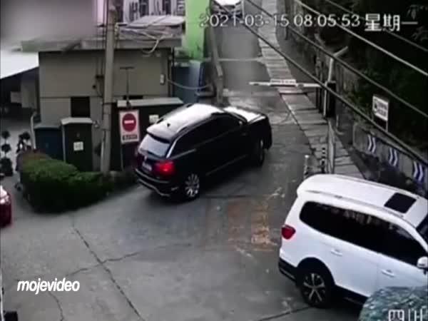 Nepovedený pokus šoféra