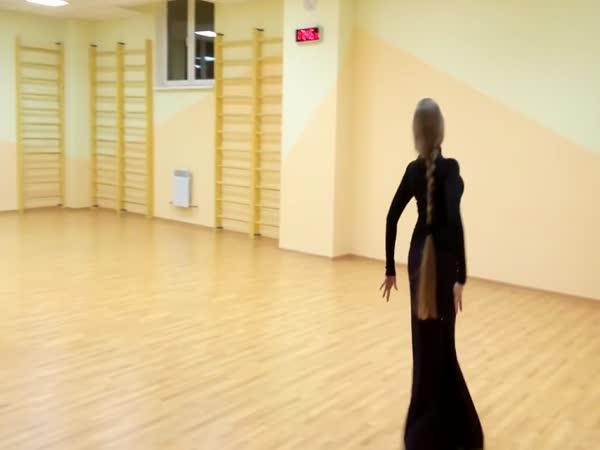 Gruzínsky tanec ačaruli
